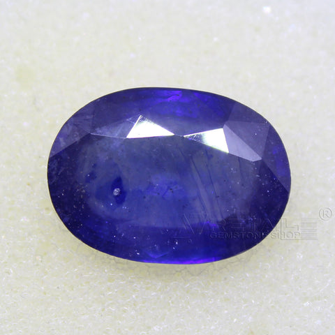 Certified Natural Blue Sapphire 8.42 Carat | 9.00 Ratti Neelam Gemstone500PCB@ AJRETAIL