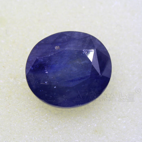 Certified Natural Blue Sapphire 8.87 Carat | 9.30 Ratti Neelam Gemstone500PCB@ AJRETAIL