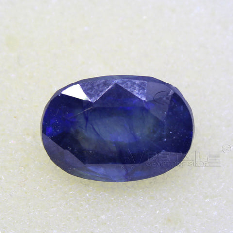 Certified Natural Blue Sapphire 8.89 Carat | 9.40 Ratti Neelam Gemstone500PCB@ AJRETAIL