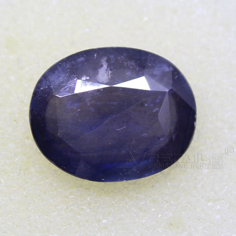 Certified Natural Blue Sapphire 8.91 Carat | 9.55 Ratti Neelam Gemstone500PCB@ AJRETAIL