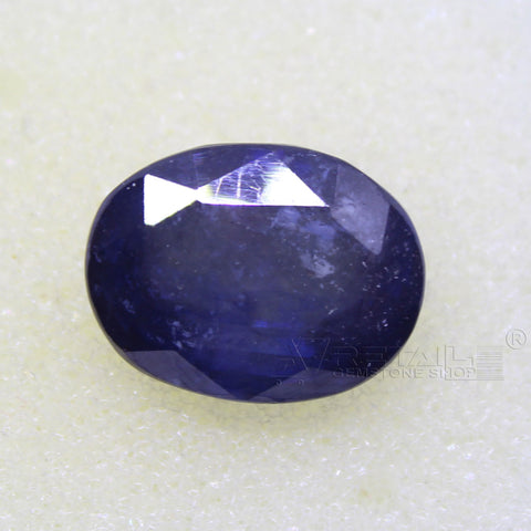 Certified Natural Blue Sapphire 9.19 Carat | 9.95 Ratti Neelam Gemstone500PCB@ AJRETAIL