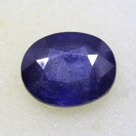 Certified Natural Blue Sapphire 9.39 Carat | 10.15 Ratti Neelam Gemstone500PCB@ AJRETAIL