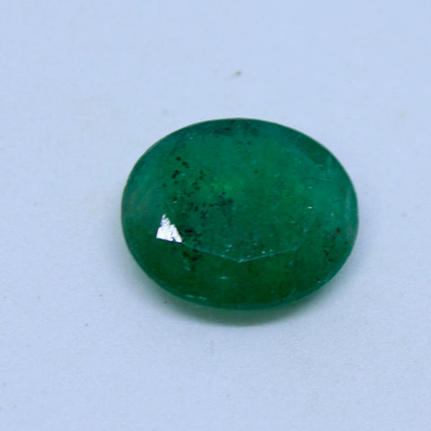10.05Ct natural emerald(panna) govt. lab certified premium quality by Ajretail - 1 Mukhi Rudraksha
