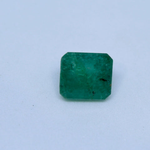 3.98Ct natural emerald(panna) govt. lab certified premium quality by Ajretail - 1 Mukhi Rudraksha