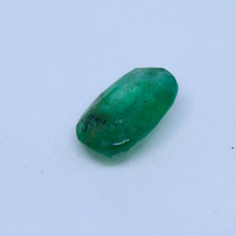 2.75Ct natural emerald(panna) govt. lab certified premium quality by Ajretail - 1 Mukhi Rudraksha