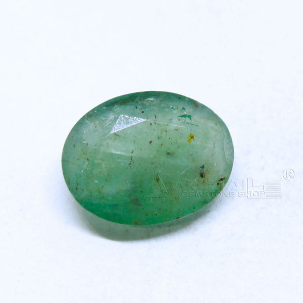 4.50 carats Untreated Natural Emerald(panna) Lab Certified(J) - 1 Mukhi Rudraksha