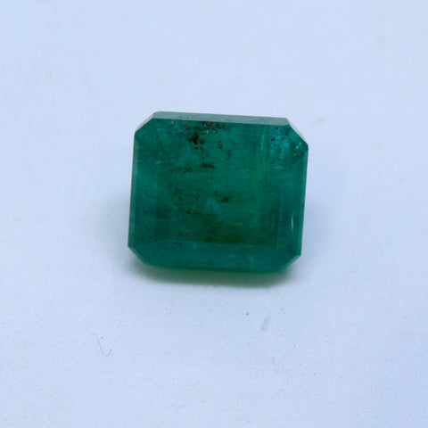 6.87Ct natural emerald(panna) IGL lab certified premium quality by Ajretail - 1 Mukhi Rudraksha