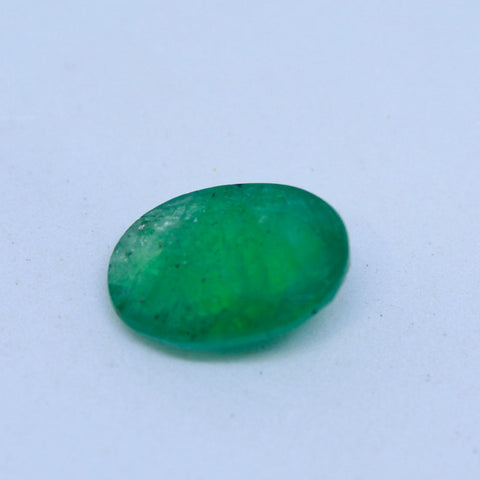 4.53Ct natural emerald(panna) IGL lab certified premium quality by Ajretail - 1 Mukhi Rudraksha