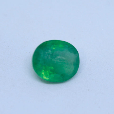 4.01Ct natural emerald(panna) IGL lab certified premium quality by Ajretail - 1 Mukhi Rudraksha