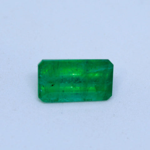 3.84t natural emerald(panna) IGL lab certified premium quality by Ajretail - 1 Mukhi Rudraksha