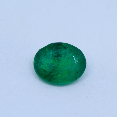 3.59Ct natural emerald(panna) IGL lab certified premium quality by Ajretail - 1 Mukhi Rudraksha
