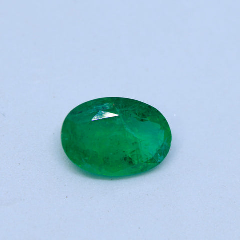 3.06Ct natural emerald(panna) IGL lab certified premium quality by Ajretail - 1 Mukhi Rudraksha