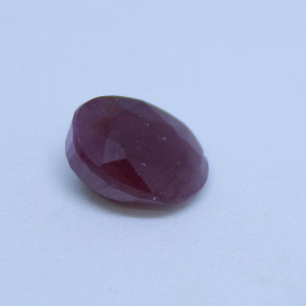 7.82 carats  Unheated Untreated AJRETAIL Natural Ruby (Manik) - 1 Mukhi Rudraksha