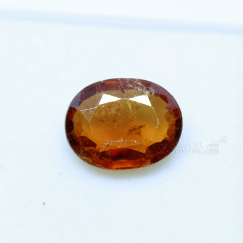 3.60 Carat Natural Gomed(hessonite) lab certified for astrological purpous - 1 Mukhi Rudraksha
