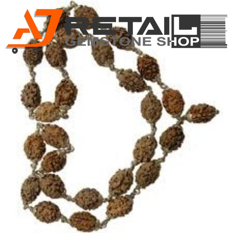 Indonesian Mala 2 Mukhi Beads 108 mm7-9 Certified Laboratory tested - Aj Retail (12) - Aj Retail - 1 Mukhi Rudraksha