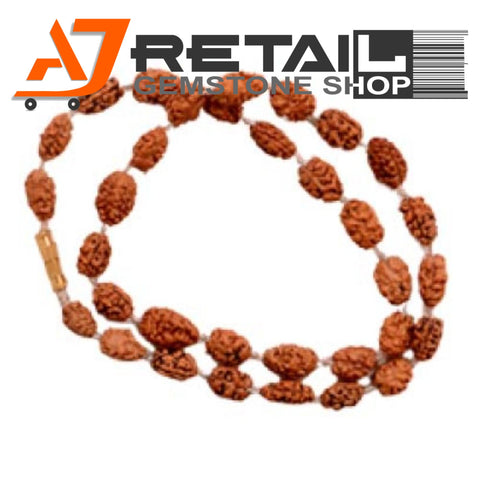 Indonesian Mala 2 Mukhi Beads 108 mm7-9 Certified Laboratory tested - Aj Retail (13) - Aj Retail - 1 Mukhi Rudraksha