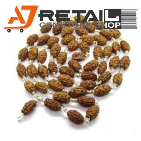 Indonesian Mala 2 Mukhi Beads 108 mm7-9 Certified Laboratory tested - Aj Retail (14) - Aj Retail - 1 Mukhi Rudraksha