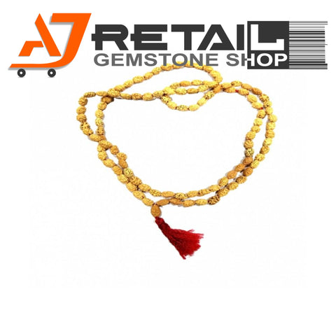 Indonesian Mala 2 Mukhi Beads 108 mm7-9 Certified Laboratory tested - Aj Retail (15) - Aj Retail - 1 Mukhi Rudraksha