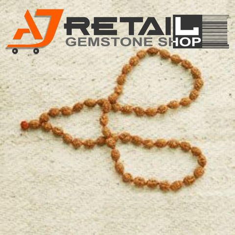 Indonesian Mala 2 Mukhi Beads 108 mm7-9 Certified Laboratory tested - Aj Retail (5) - Aj Retail - 1 Mukhi Rudraksha
