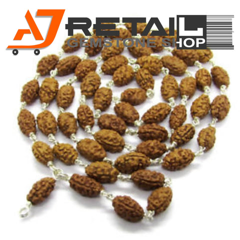 Indonesian Mala 2 Mukhi Beads 108 mm7-9 Certified Laboratory tested - Aj Retail (8) - Aj Retail - 1 Mukhi Rudraksha