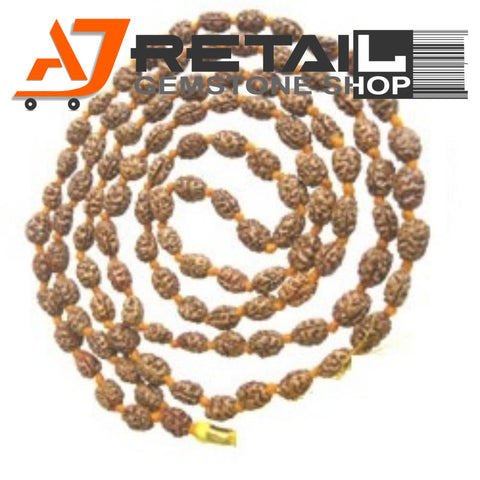 Indonesian Mala 2 Mukhi Beads 108 mm7-9 Certified Laboratory tested - Aj Retail (2) - Aj Retail - 1 Mukhi Rudraksha