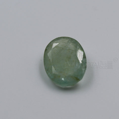4.58 CARAT Panna Stone | Natural Emerald Gemstone AA+ Quality certified by IGL - 1 Mukhi Rudraksha