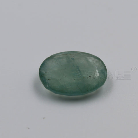 4.64 CARAT Panna Stone | Natural Emerald Gemstone AA+ Quality certified by IGL - 1 Mukhi Rudraksha