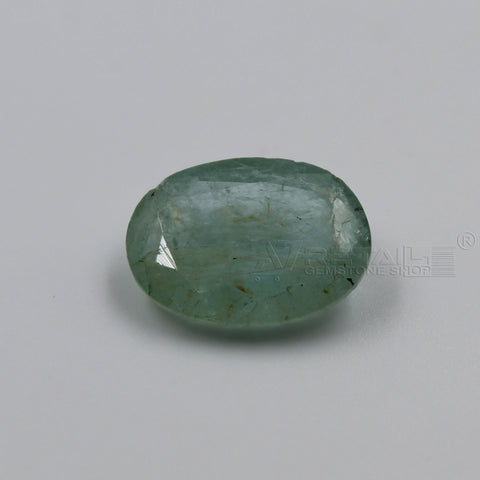 5.40 CARAT Panna Stone | Natural Emerald Gemstone AA+ Quality certified by IGL - 1 Mukhi Rudraksha