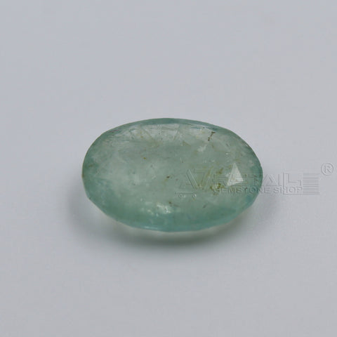 5.73 CARAT Panna Stone | Natural Emerald Gemstone AA+ Quality certified by IGL - 1 Mukhi Rudraksha