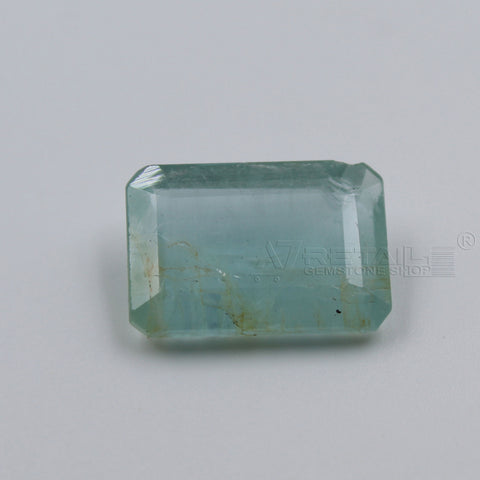 6.82 CARAT Panna Stone | Natural Emerald Gemstone AA+ Quality certified by IGL - 1 Mukhi Rudraksha