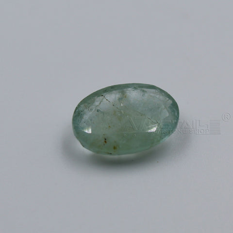4.31 CARAT Panna Stone | Natural Emerald Gemstone AA+ Quality certified by IGL - 1 Mukhi Rudraksha
