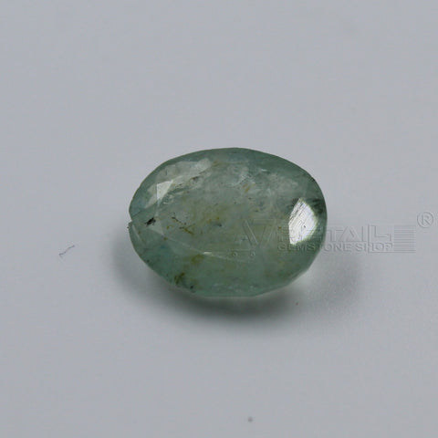 4.45 CARAT Panna Stone | Natural Emerald Gemstone AA+ Quality certified by IGL - 1 Mukhi Rudraksha