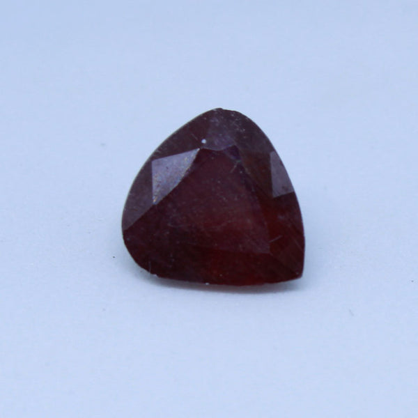 7.100 cts  Natural Ruby astrology purpose Manik and Cunni Stone - 1 Mukhi Rudraksha