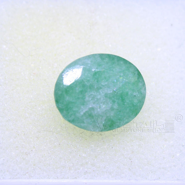 4.90 CARAT Panna Stone | Natural Emerald Gemstone AA+ Quality certified by IGL - 1 Mukhi Rudraksha