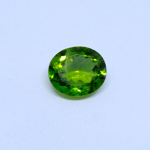 6.49 Carat Unheated and Untreated Natural Peridot with  trusted lab. certificate - 1 Mukhi Rudraksha