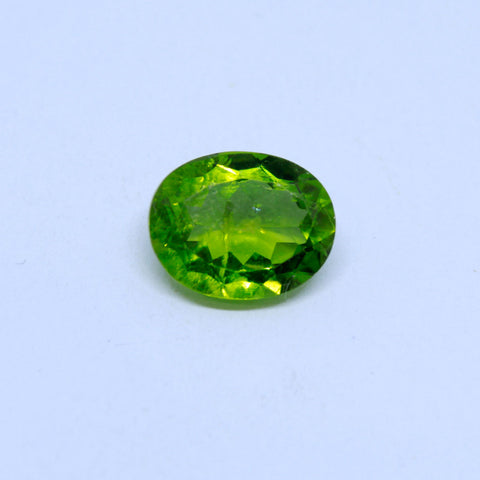 5.97 Carat Unheated and Untreated Natural Peridot with  trusted lab. certificate(A) - 1 Mukhi Rudraksha