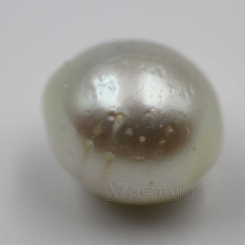 6.14cts Salt Water Pearl 100% Natural with certificate report generated by IGL Laboratory - 1 Mukhi Rudraksha