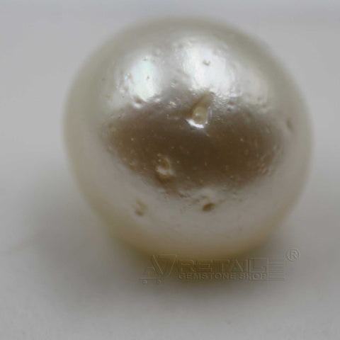 6.81cts Salt Water Pearl 100% Natural with certificate report generated by IGL Laboratory - 1 Mukhi Rudraksha