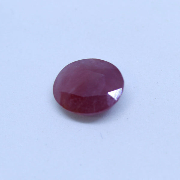 4.47 carats Certified Natural Ruby manik and cunni for astrology purpose - 1 Mukhi Rudraksha