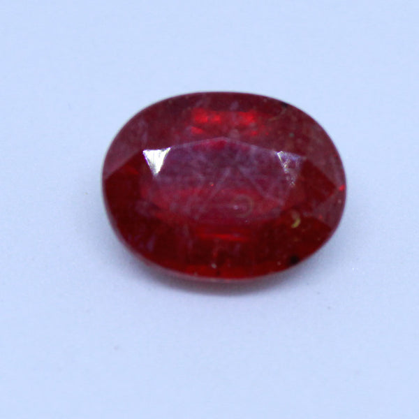 9.33 carats Certified Natural Ruby manik and cunni for astrology purpose - 1 Mukhi Rudraksha