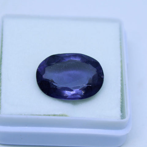 8.60 Cts Natural Neeli stone Iolite Gemstone gemology lab certified