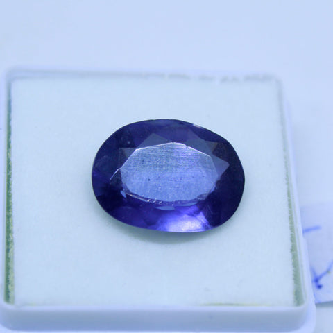8.65 Cts Natural Neeli stone Iolite Gemstone gemology lab certified
