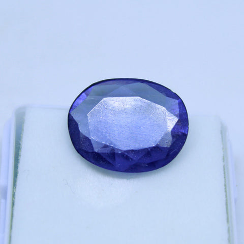 9 Cts Natural Neeli stone Iolite Gemstone gemology lab certified