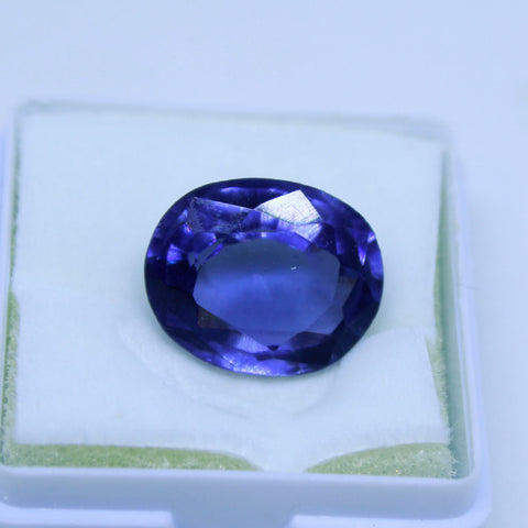 11.90 Cts Natural Neeli stone Iolite Gemstone gemology lab certified