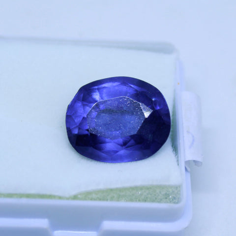 16.70 Cts Natural Neeli stone Iolite Gemstone gemology lab certified
