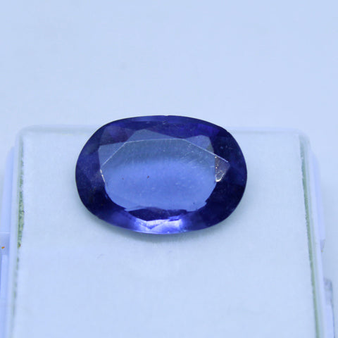 19.60 Cts Natural Neeli stone Iolite Gemstone gemology lab certified