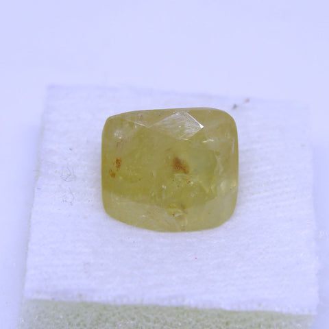 11.52 Carat Natural yellow saphhire (pukhraj) with goverment lab. certificate buy online on AJRETAIL - 1 Mukhi Rudraksha