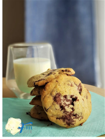 Lupin Chocolate Chunk Cookies FruxField