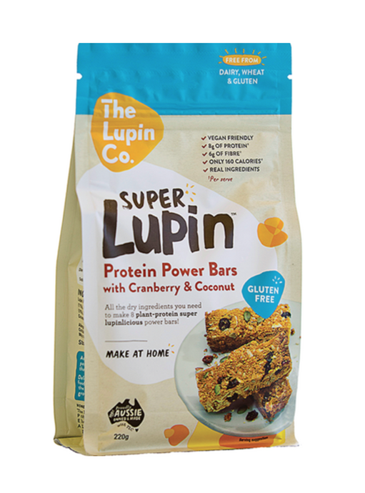 FruxField | SuperLupin Protein Power Bars
