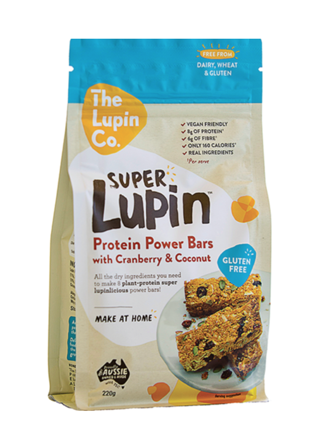 FruxField | SuperLupin Protein Power Bars Mix